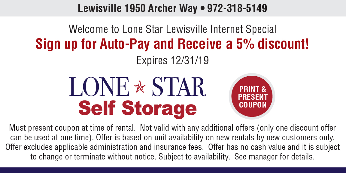Lewisville location coupon image 1
