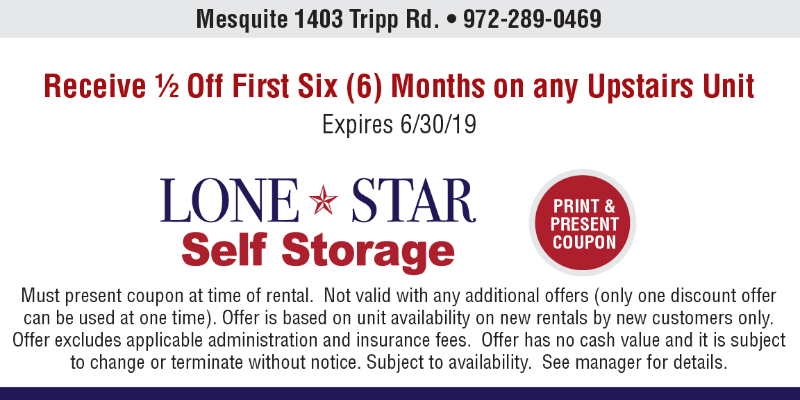 Mesquite location coupon image