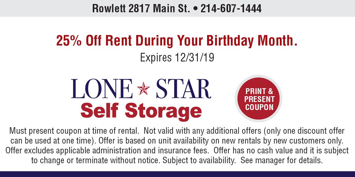 Rowlett Main St. coupon image 3
